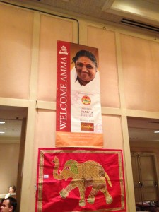 "Amma is sponsored by Reed's Ginger Beer ""platimun level"" (that's what it says on the banner!)"